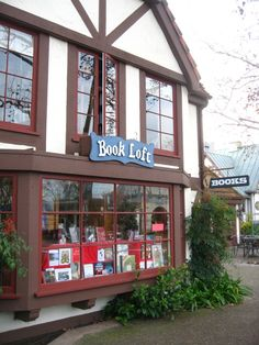 The Book Loft...Solvang, CA. One of my favorite places to go when I go home. So many old books!