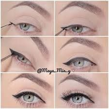 How to put on eye liner perfectly step by step