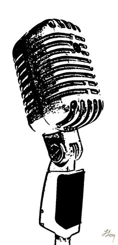 microphone drawing symbol - Google Search