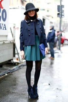 PARIS FW A/W 2013/14 - STREET STYLE - SCENT OF OBSESSION - fashion blogger, outfit, travel and beauty tips