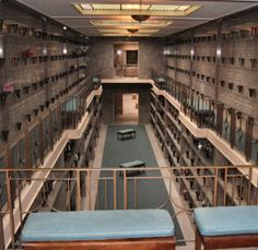 There is something more unsettling when surrounded by bodies in a mausoleum than in a cemetery..