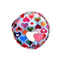 Bolsa para Cachorro Azul Corações Pethood - MeuAmigoPet.com.br #petshop #cachorro #cão #meuamigopet