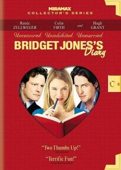 """Bridget Jones's Diary"". Where to begin? I have no idea; this movie is just the real deal. It's sweet and warm and funny and relateable and original... It set the barre for all romantic movies and portrayals of modern day women and their love-life-struggles to come. But even today, twelve years later, I find that very few films can join the Holy club of excellence where you find ""Bridget Jones's Diary"". <3 <3 <3 <3 <3 <3"