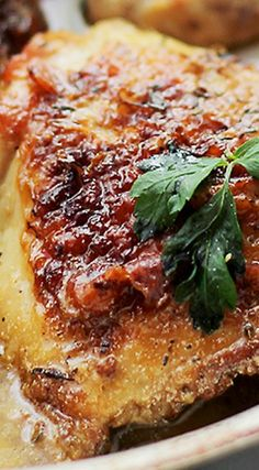 Lemon Paprika Chicken – Marinated in a lemon and paprika mixture with garlic and thyme, these incredible chicken thighs are quick and easy to make, and they are perfect for a weeknight meal.