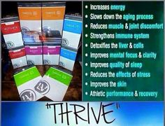 Come and Thrive with me and feel like a better version of yourself!  Smirasolo.le-vel.com