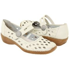 Womens Rieker Softina Sport - 39 leather. perforated. rubber-sole. closed-toe.  #Rieker #Shoes