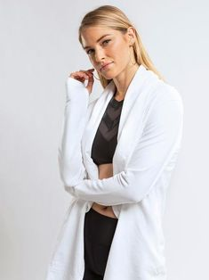 Eclipse Cardigan- winter white and warm. Cardigan Fashion, Jean Shirts, Post Workout, Winter White, Colored Jeans, Get The Look, Warm, Stylish, Chic