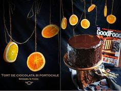 O noua provocare, de data aceasta din partea Good Food.   A aparut  in aceasta luna  revista Good Food cu o coperta spectaculoasa...sau... Chocolate Orange, Cream Cake, Deserts, Birthday Cake, Breakfast, Food, Cakes, Custard Cake, Morning Coffee