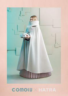 """画像: 6/12【「ハトラ」長見佳祐がデザイン、""""コモる""""ためのウエア発表】 Girl Fashion, Fashion Outfits, Womens Fashion, Fashion Design, Design Textile, Cyberpunk Fashion, Character Outfits, Look Cool, Costume Design"""