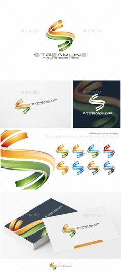 Streamline / S Letter  - Logo Design Template Vector #logotype Download it here: http://graphicriver.net/item/streamline-s-letter-logo-template/12326746?s_rank=623?ref=nexion