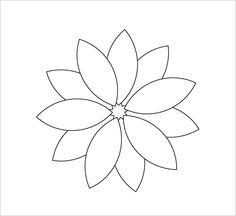 12+ Printable Flower Petal Templates Free Download!   Free & Premium Templates