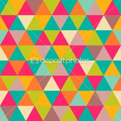 Abstract geometric triangle seamless pattern — Stock Vector #21902153