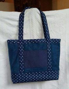 bolsa de tejidos reciclados