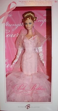 Official Pink Ribbon Barbie....