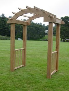 Rustic arbor plans rustic x wedding arch do it yourself home love this look for a wedding arch stained darker though ceremony solutioingenieria Choice Image