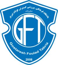 Gostaresh Foulad F. Asia, Club, Badge, Football, Iran, Logos, Persian, Soccer Teams, Soccer