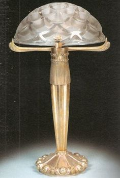 "cgmfindings: "" Rene Lalique table lamp """