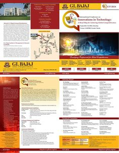 """International Conference on Innovations in Technology (ICIT-2K16) at GLBIMR, on September 10, 2016  We are glad to inform you that GLBIMR, one of the premier B-schools of India, is organizing International Conference on """"Innovations in Technology: A Roadmap for Achieving Global Competitiveness (ICIT-2K16) """" on September 10, 2016, Saturday."""