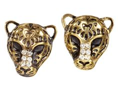 This purrfect pair of studs may be small, but they're sure to get everyone talking! #fashion