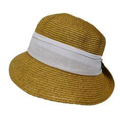 Small Bonnet Hat with Scarf - Boardwalk Style Summer Hats For Women, Bonnet Hat, Cloche Hat, Sun Hats, Style, Swag, Sombreros De Playa, Outfits, Cloche Hats