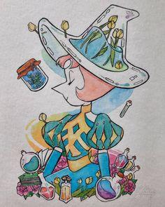 Steven Universe Tattoos, Steven Universe Anime, Perla Steven Universe, Steven Universe Drawing, Steven Univese, Universe Images, Fanart, Cartoon Art Styles, Pics Art