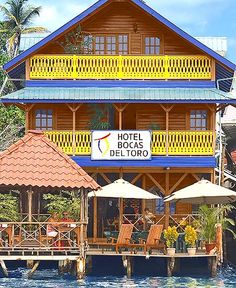 Hotels will be on the water - Bocas del Toro