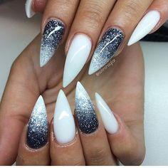 ✨✨✨ By: @solinsnaglar  ____________________________ #nails #nail #fashion #style #Unhas #beauty #beautiful #stylish #sparkles #styles #gliter #nailart #art #gelnails #photooftheday #nailwow #nailporn #trend #follow #rosa #acrylicnails #shiny #polish #nailpolish #nailswag #stiletto #stilettonails #inspo #nailinspo
