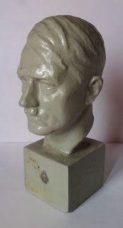 ADOLF HITLER BUST HEAD FIGURINE PRICE $399