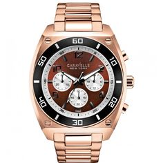 Gorgeous:  CARAVELLE NEW YOR...    Check it out here! http://www.musthaveshoesandmore.com/products/caravelle-new-york-the-sports-chrono-collection-chronograph-rose-goldtone-bracelet-watch?utm_campaign=social_autopilot&utm_source=pin&utm_medium=pin