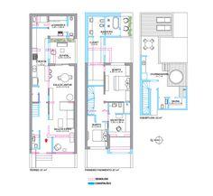 Duas casas parecidas passam por reforma: uma vira clássica; a outra, moderna | CASA.COM.BR