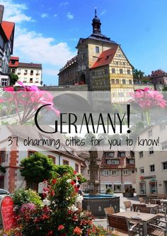 Check out 37 cities in Germany for you to fall in love with!