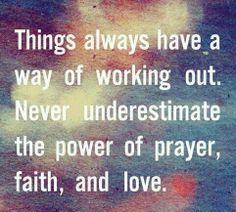 Quotes About Faith and Prayer | Prayer ♥ Faith ♥ Love
