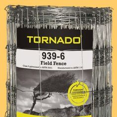 Indiana, Pennsylvania - If you are looking for field fencing with minimal lifetime costs then Tornado wire Ltd. Field Fence, Livestock, Diy Projects, Building, Buildings, Handmade Crafts, Architectural Engineering, Tower