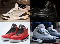 air jordan 3 retro sneakers A Complete Retro History of the Air Jordan 3 Air Jordan Iii, Air Jordan Shoes, Retro Sneakers, Sneakers Nike, Cheap Air, Crazy Shoes, Nike Zoom, Shoe Game, Kicks
