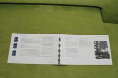 Modernismi ja nykytaide -teosanalyysi, 3 op, (2/4). Taitettu kierresidonta. Arvosana: 5. Muotoiluinstituutti, 2002–2006, viestinnän koulutusohjelma, graafinen suunnittelu. © Natasha Varis, 2004.