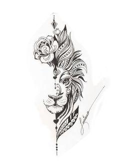 tattoo designs unique * tattoo designs _ tattoo designs men _ tattoo designs for women _ tattoo designs men forearm _ tattoo designs unique _ tattoo designs men arm _ tattoo designs men sleeve _ tattoo designs men small Nature Tattoos, Body Art Tattoos, Sleeve Tattoos, Tattoos 3d, Small Tattoos, Flower Tattoos, Lion Tattoo With Flowers, Temporary Tattoos, Tatoos