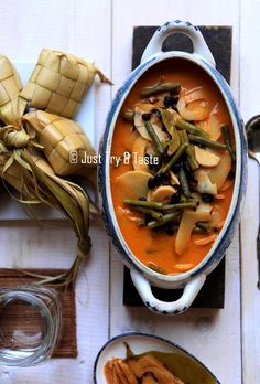 Membuat Gulai Rebung, Kacang Panjang dan Kacang Merah a la My Mom | Just Try & Taste