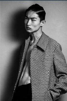 kim sang woo  ... Coat texture, that face!