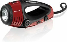 Weather X WF382R NOAA Weather Band and AM/FM Radio Flashlight/Lantern with Dynamo Hand Crank Power - Red/Black by Weatherx. $25.67. More than a flashlight, the WeatherX WFR382 is an all-in-one emergency tool. Be prepared with an 7-LED flashlight and a 5-LED lantern. Get instant updates through the NOAA instant weather radio or the AM/FM radio. Each flashlight has analog volume control, a built-in speaker and a 3.5mm audio input for plugging in an external device. A dyn...