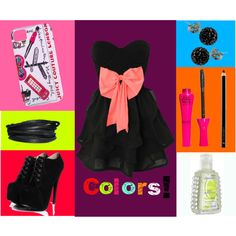 """""""Colors!"""" by isi-belieber3 on Polyvore"""