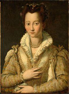 ab. 1590 Alessandro Allori - Portrait of a Woman