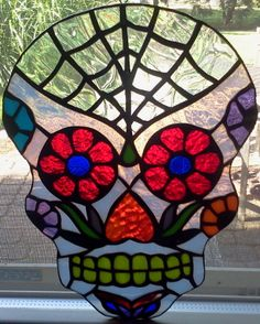 Spider Web Sugar Skull