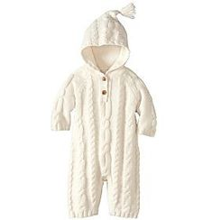 cable knit baby | Baby Clothes | Unisex Baby Clothes | Hanna Andersson Rompers https://presentbaby.com