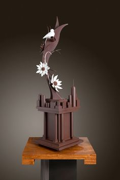 World Chocolate Masters 2013.  Jove Hubbard's showpiece (USA)