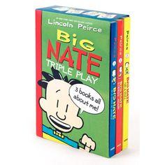 Big Nate Triple Play Box Set by Harper Collins | eBeanstalk