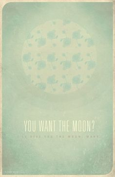 poster based on it's a wonderful life quote