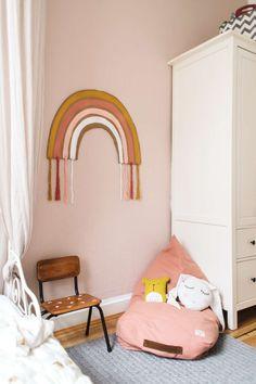 DIY Kids Room Rainbow Decor, DIY Regenbogen