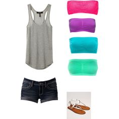 Summer- Different Color Outfit