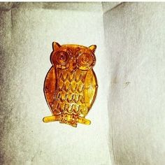We couldn't possibly smoke this adorable, little, owl dab! ...Oh, who are we kidding? :P