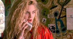 Girls on film: Drew Barrymore in Poison Ivy|drew barrymore,poison ivy,90s,90s grunge,blonde,curly hair,girls on film | Glasshouse Journal